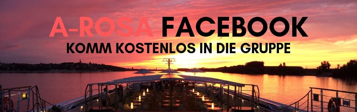Komm kostenlos in unsere Facebook A-Rosa Gruppe