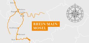 A-Rosa Flora Rhein Erlebnis Kurs Basel