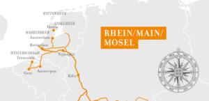 A-Rosa Silva Rhein Erlebnis Kurs Amsterdam