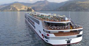 A-Rosa E-Motion Flusskreuzfahrtschiff: Der Neubau 2020