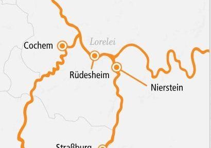 A-Rosa Rhein Feinschmecker 2019 / ©A-Rosa Flussschiff GmbH